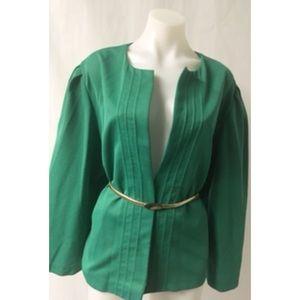 Green Vintage Cardigan Size Large